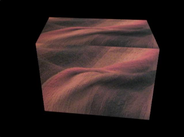 Orange Cube for NOrth Wall B