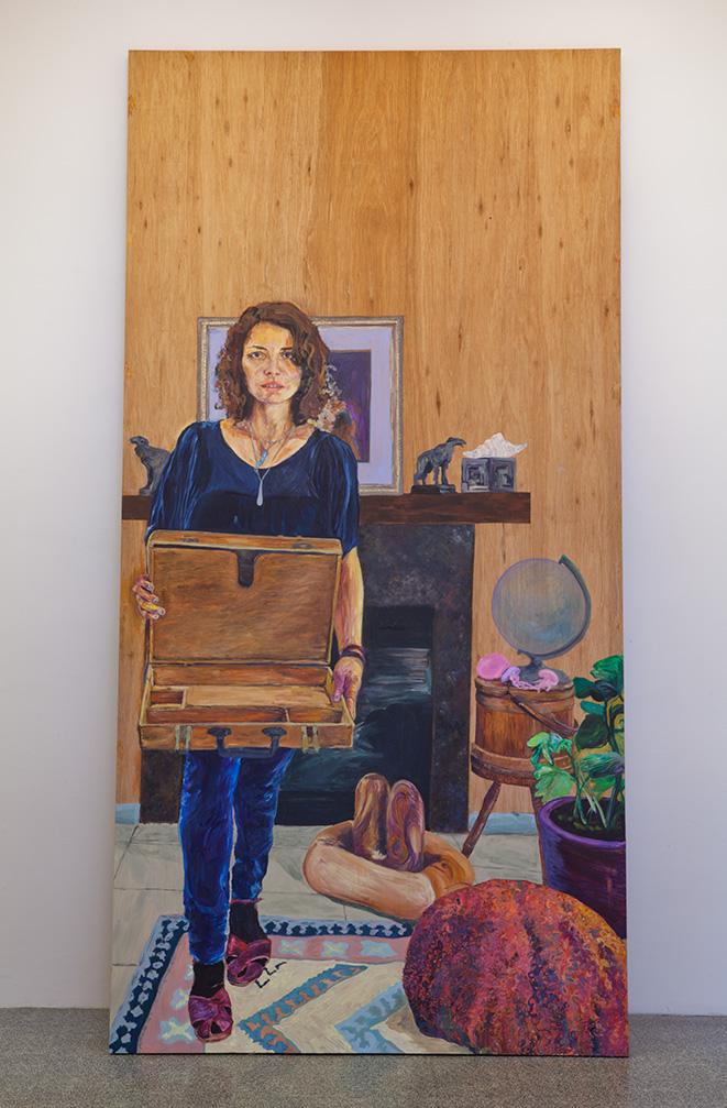 Simone Montemurno_Self Portrait of the Artist_Mirrored View_A