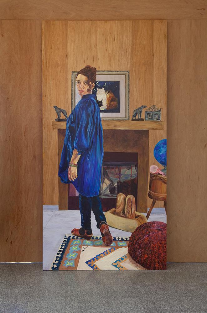 Simone Montemurno_Self Portrait of the Artist_Mirrored View_B