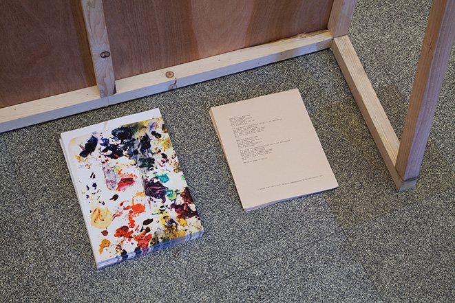 Simone Montemurno_When You Sign Your Name_Installation Detail_03